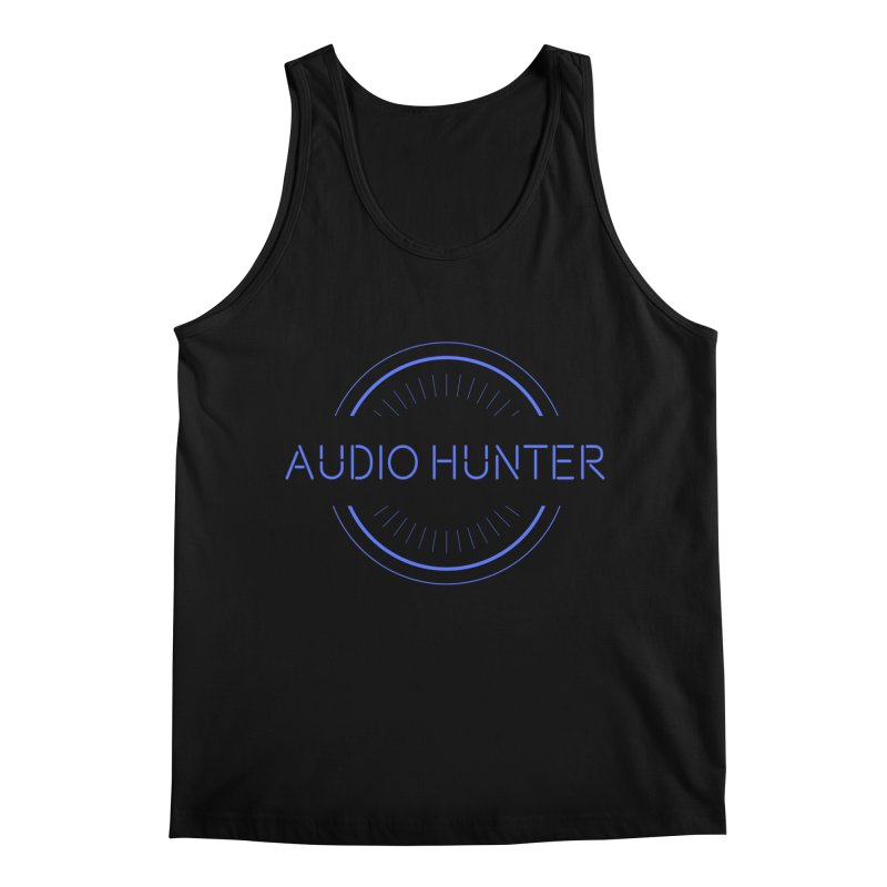 Audio Hunter Men's Tank by Synchronized Music