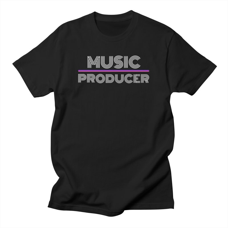 80s Music Producer Men's T-Shirt by Synchronized Music