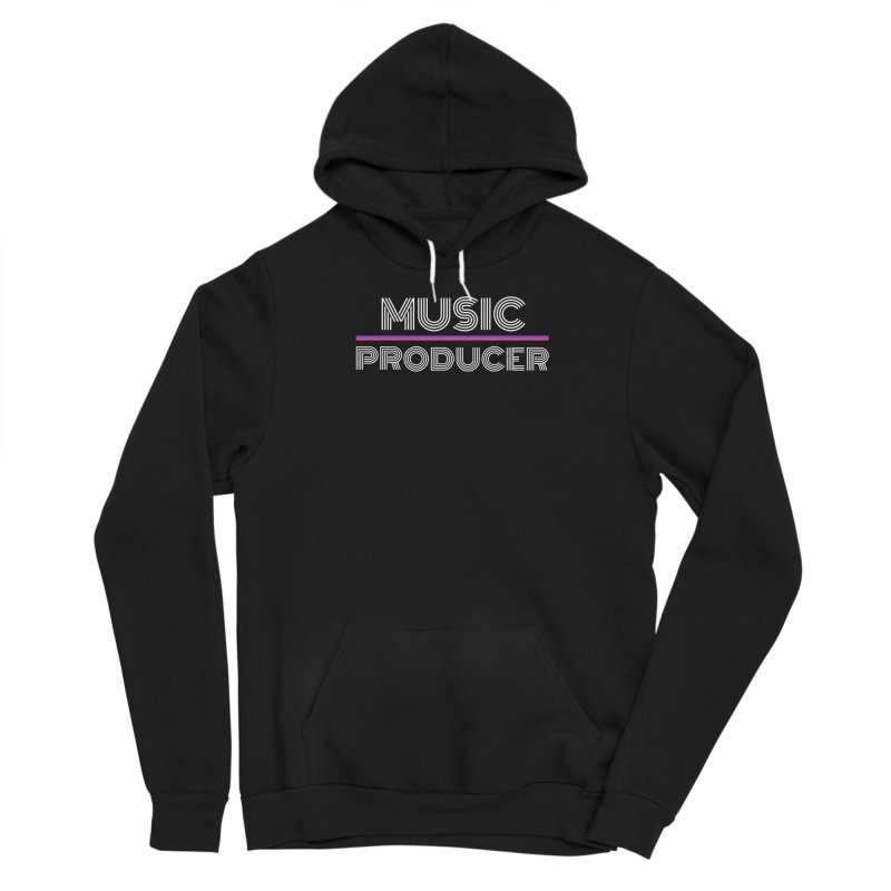 80s Music Producer Men's Pullover Hoody by Synchronized Music