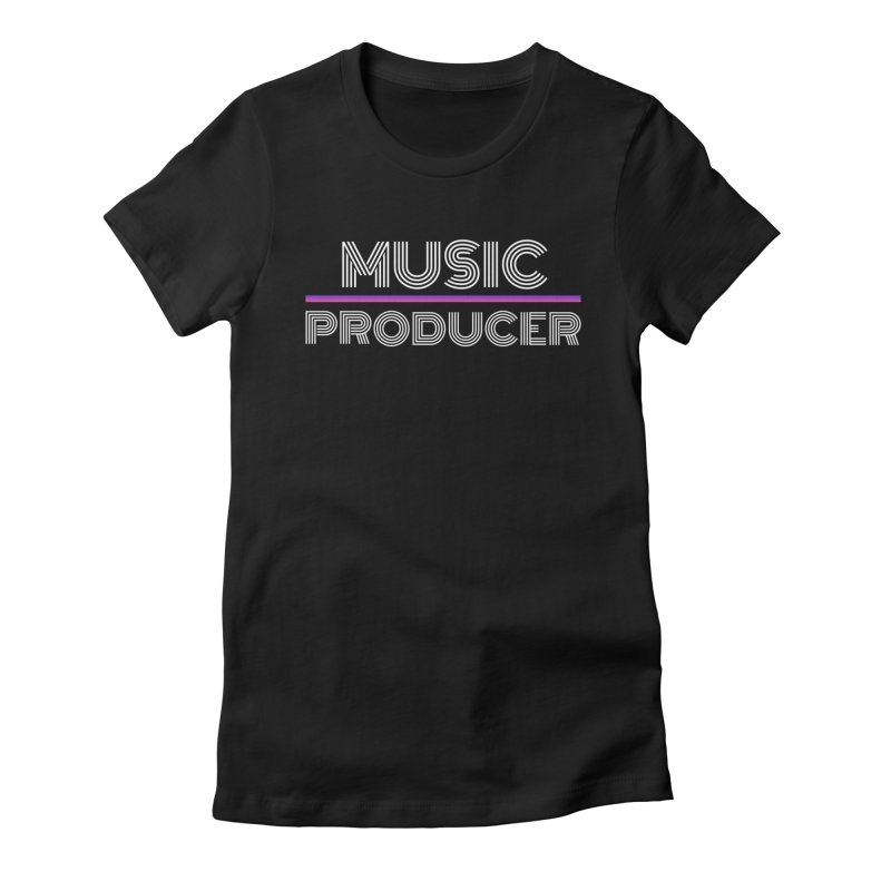 80s Music Producer Women's T-Shirt by Synchronized Music