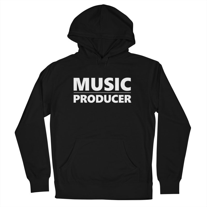 Music Producer Women's French Terry Pullover Hoody by Synchronized Music