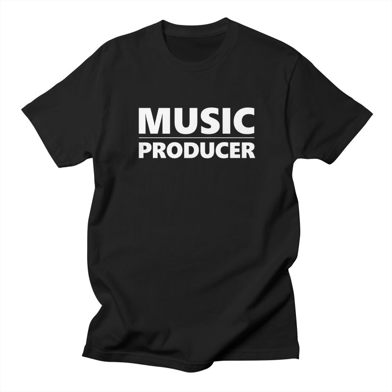Music Producer Men's Regular T-Shirt by Synchronized Music