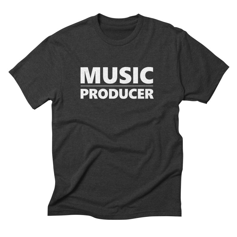 Music Producer Men's Triblend T-Shirt by Synchronized Music