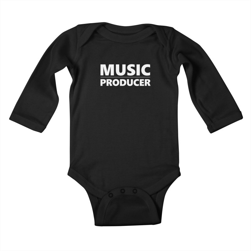 Music Producer Kids Baby Longsleeve Bodysuit by Synchronized Music