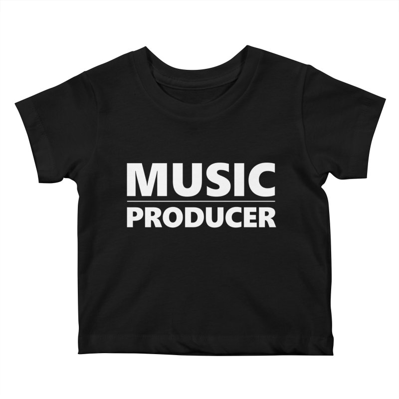 Music Producer Kids Baby T-Shirt by Synchronized Music