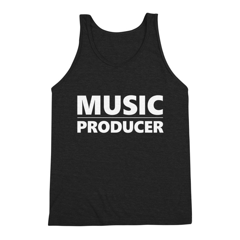 Music Producer Men's Tank by Synchronized Music
