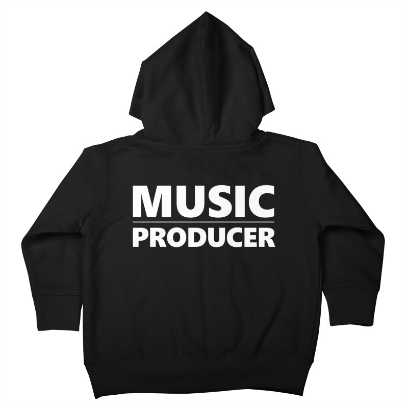 Music Producer Kids Toddler Zip-Up Hoody by Synchronized Music