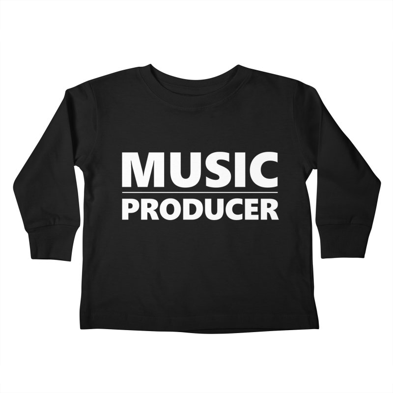Music Producer Kids Toddler Longsleeve T-Shirt by Synchronized Music