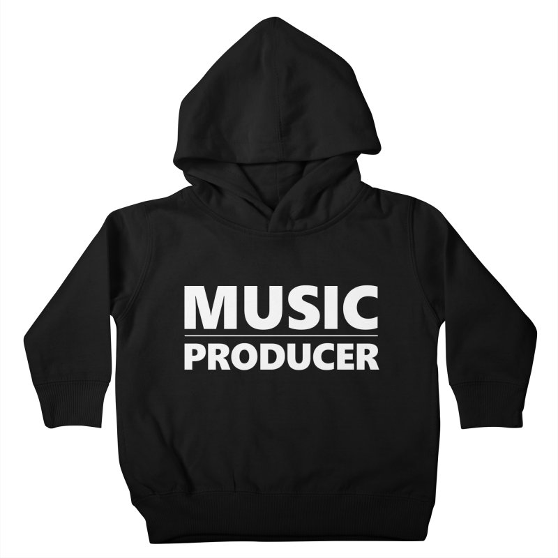 Music Producer Kids Toddler Pullover Hoody by Synchronized Music