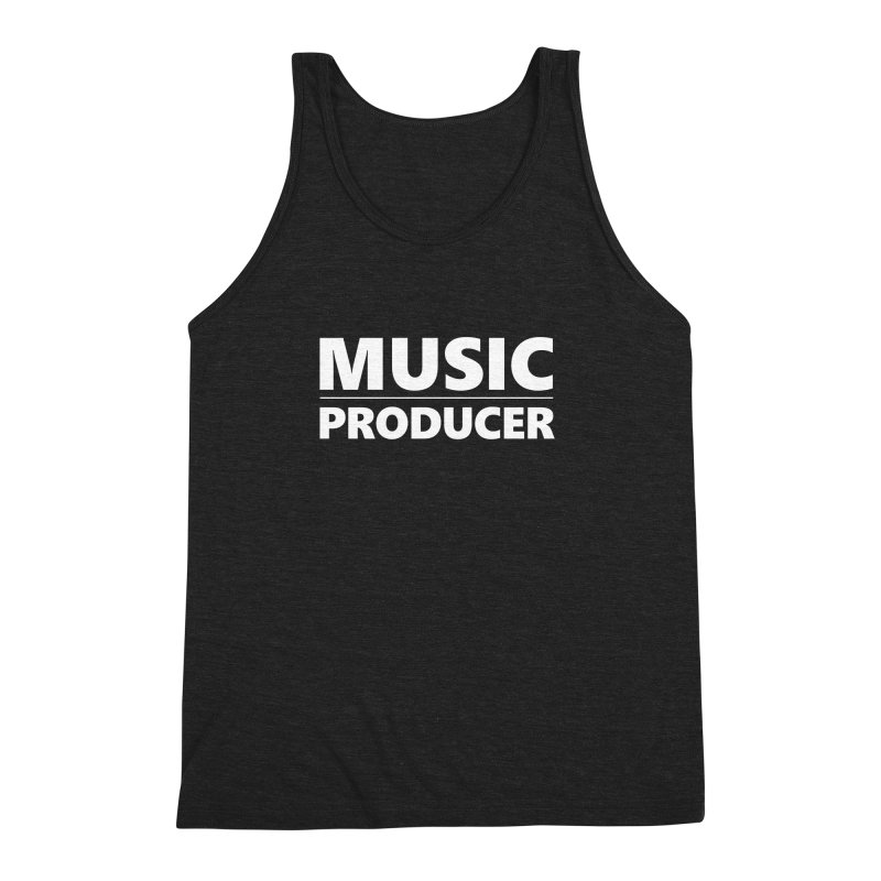 Music Producer Men's Triblend Tank by Synchronized Music