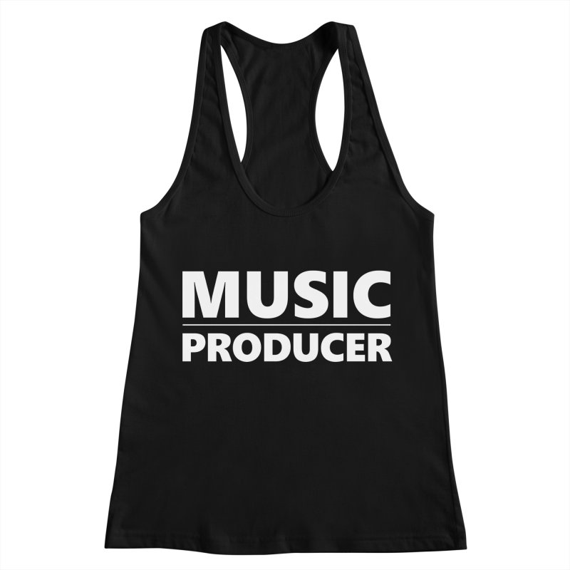 Music Producer Women's Racerback Tank by Synchronized Music