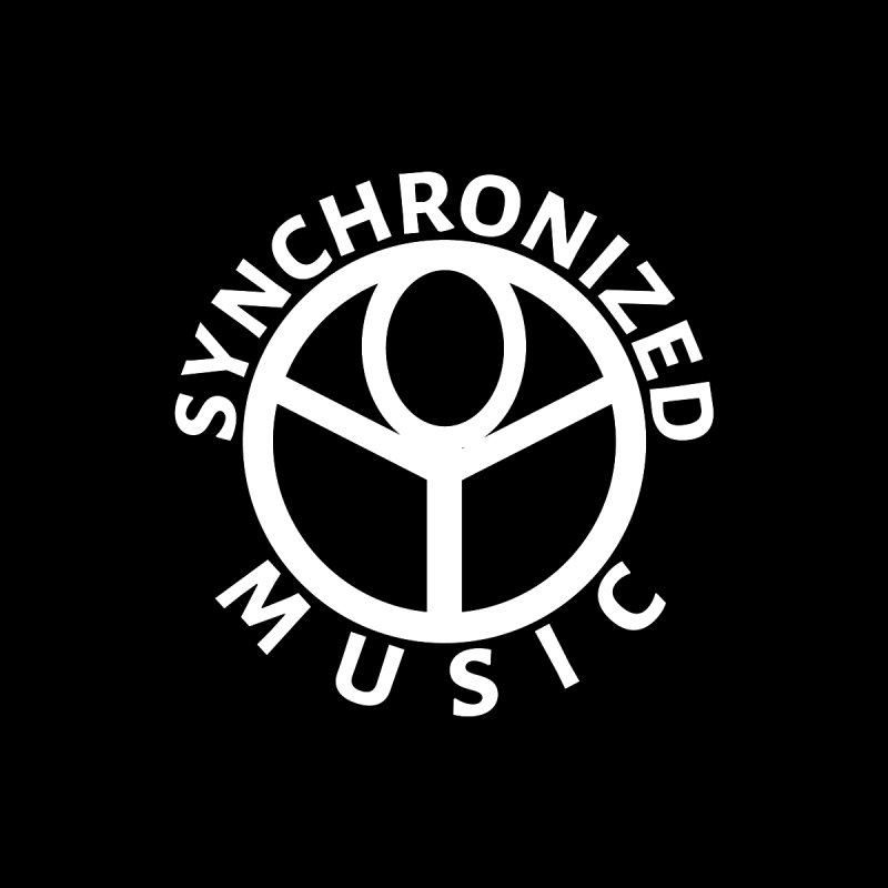 Synchronized Logo T-Shirt Men's Zip-Up Hoody by Synchronized Music