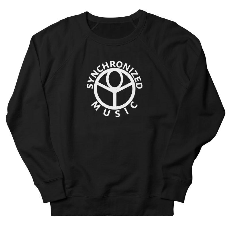 Synchronized MuziCali Logo T-Shirt Men's French Terry Sweatshirt by Synchronized Music
