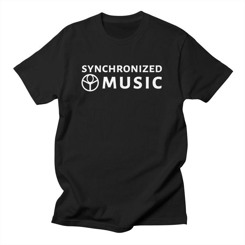 Synchronized Music Men's T-Shirt by Synchronized Music