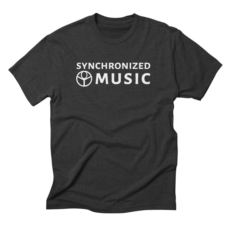 Synchronized Music Men's Triblend T-Shirt by Synchronized Music