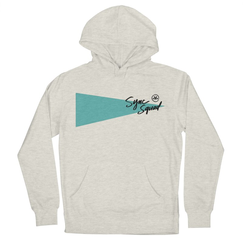 SYNCSQUAD in Teal Men's French Terry Pullover Hoody by SYNCSTUDIO Sweat Supplies