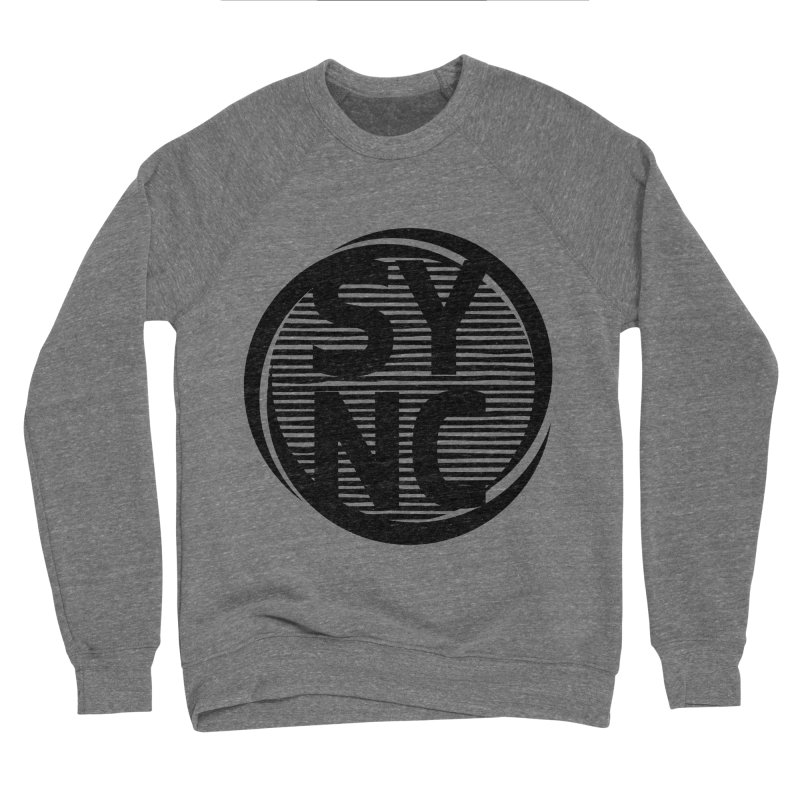 SYNC in Black Women's Sponge Fleece Sweatshirt by SYNCSTUDIO Sweat Supplies