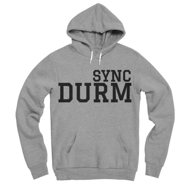 SYNC DURM Women's Sponge Fleece Pullover Hoody by SYNCSTUDIO Sweat Supplies