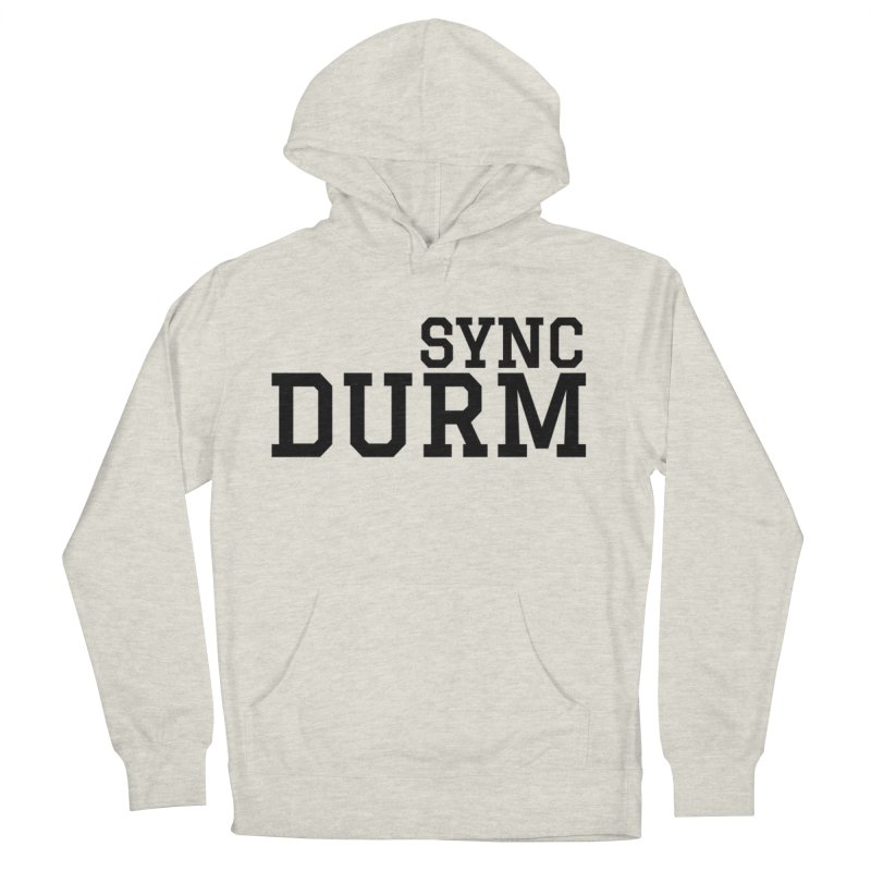 SYNC DURM Women's French Terry Pullover Hoody by SYNCSTUDIO Sweat Supplies