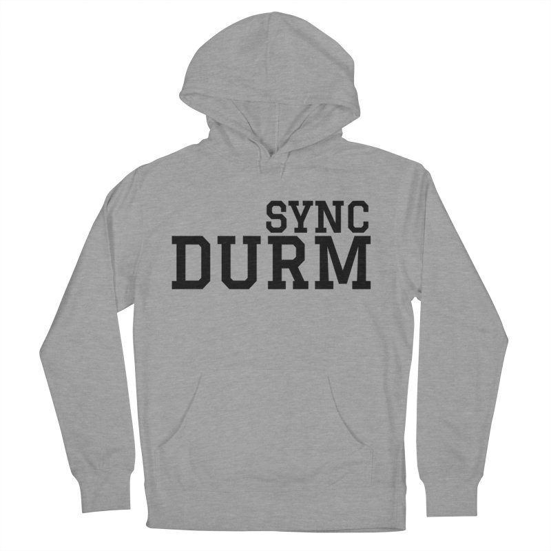 SYNC DURM Men's French Terry Pullover Hoody by SYNCSTUDIO Sweat Supplies