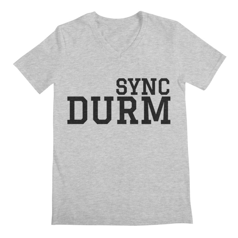 SYNC DURM Men's Regular V-Neck by SYNCSTUDIO Sweat Supplies