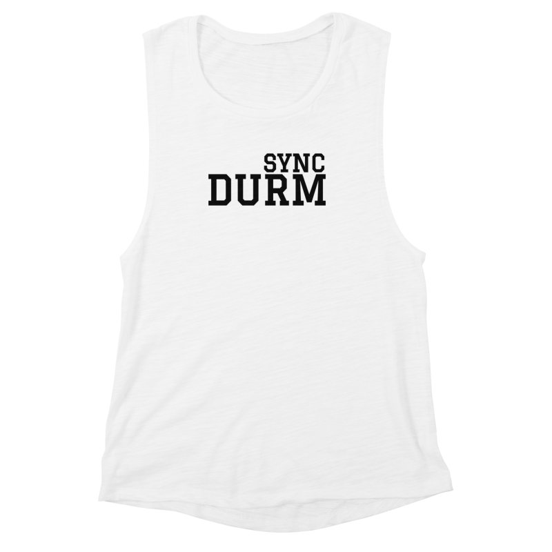SYNC DURM Women's Muscle Tank by SYNCSTUDIO Sweat Supplies