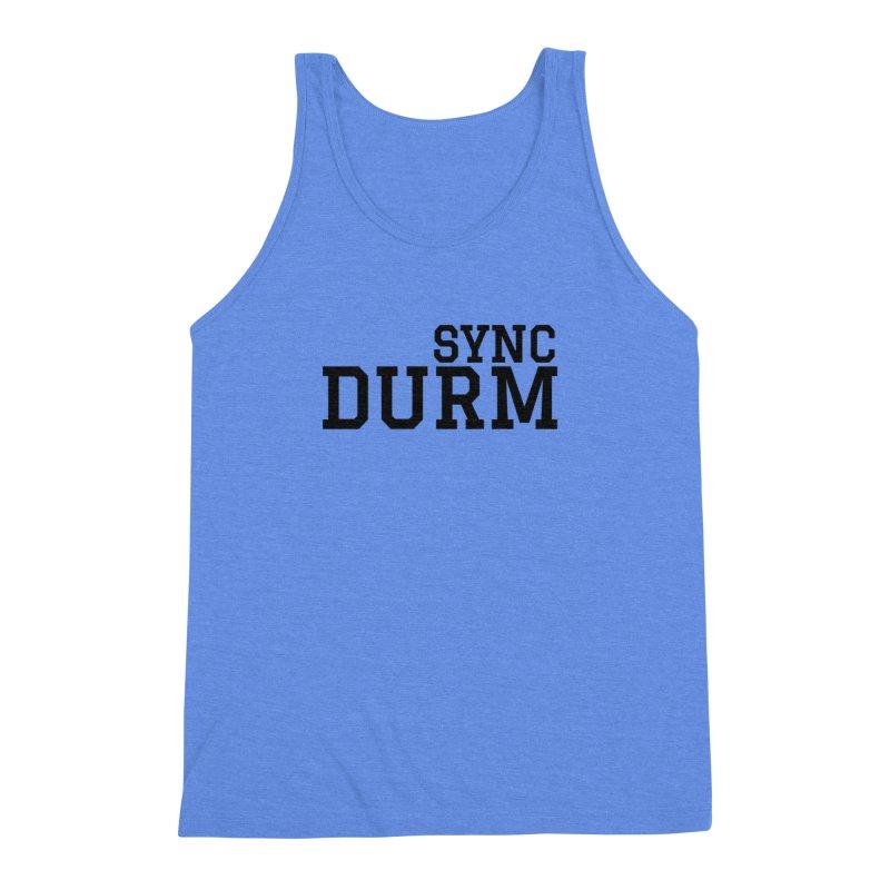 SYNC DURM Men's Triblend Tank by SYNCSTUDIO Sweat Supplies