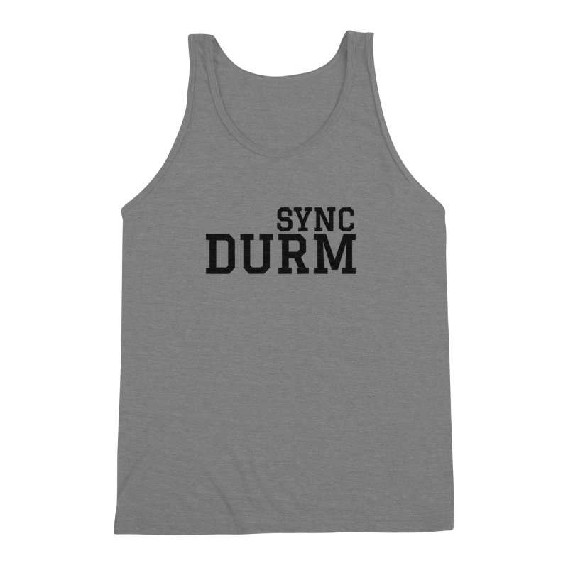 SYNC DURM Men's Triblend Tank by SYNCSTUDIO Sweat Supplies