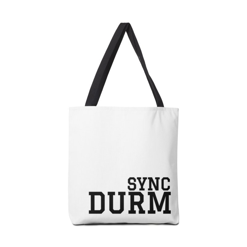SYNC DURM Accessories Tote Bag Bag by SYNCSTUDIO Sweat Supplies