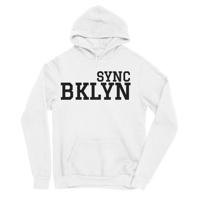SYNC BKLYN Men's Sponge Fleece Pullover Hoody by SYNCSTUDIO Sweat Supplies