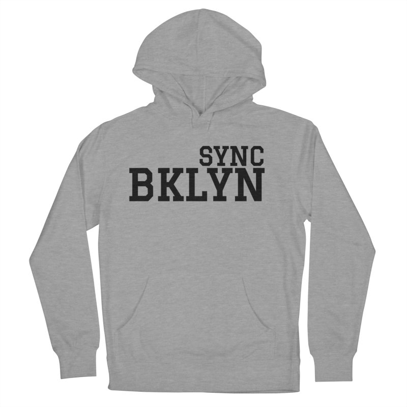 SYNC BKLYN Men's French Terry Pullover Hoody by SYNCSTUDIO Sweat Supplies