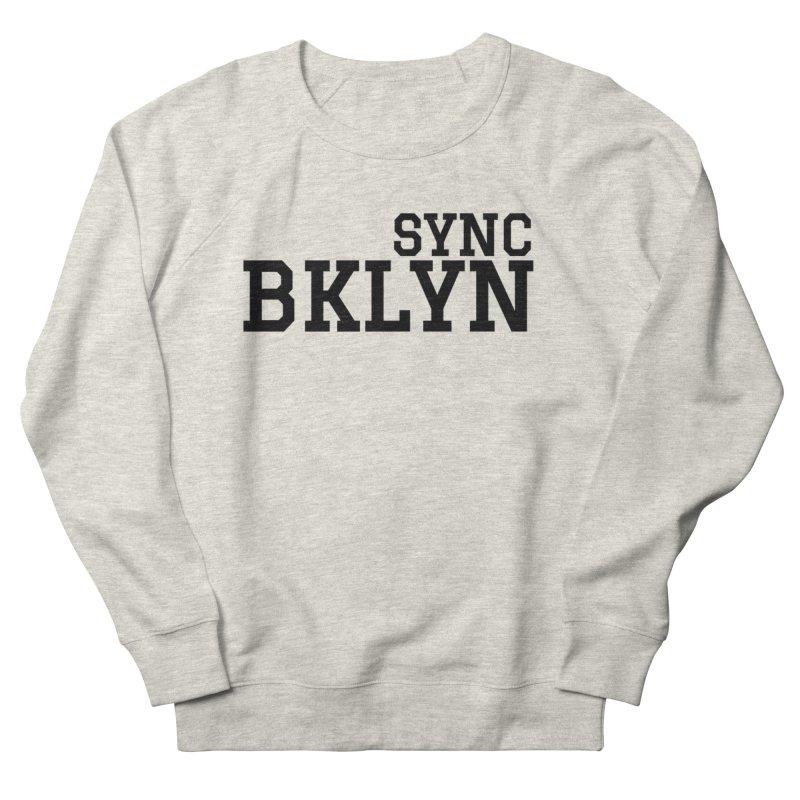SYNC BKLYN Men's French Terry Sweatshirt by SYNCSTUDIO Sweat Supplies