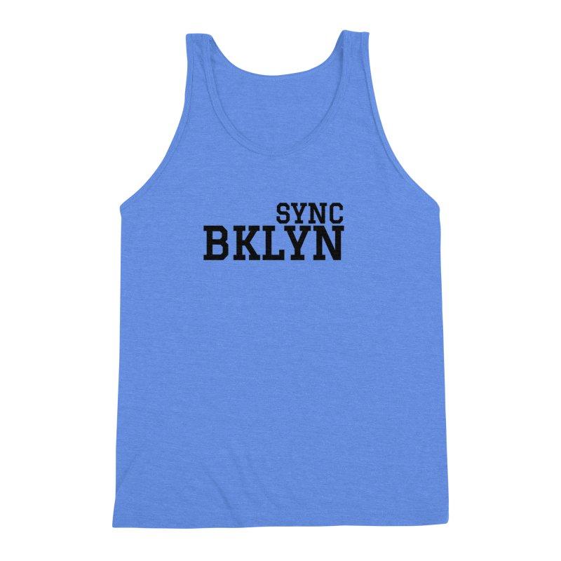 SYNC BKLYN Men's Triblend Tank by SYNCSTUDIO Sweat Supplies