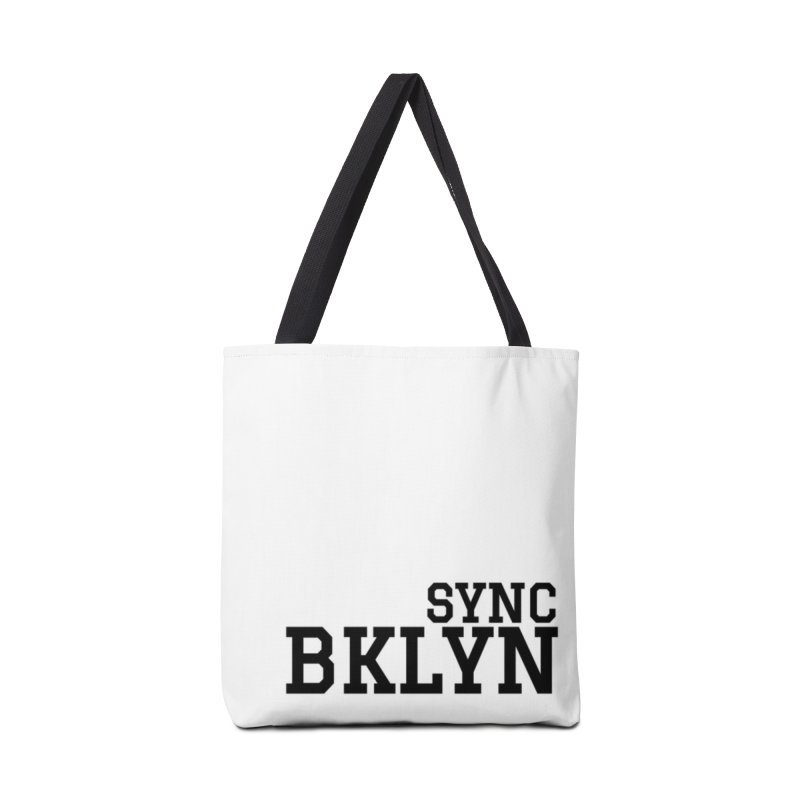 SYNC BKLYN Accessories Tote Bag Bag by SYNCSTUDIO Sweat Supplies