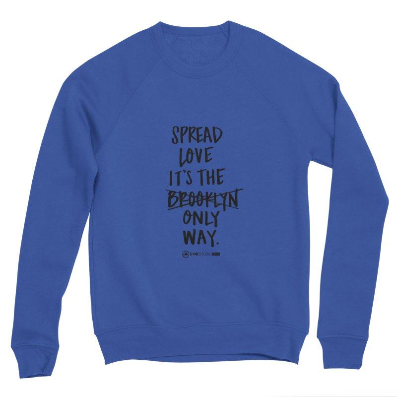 THE BK WAY Women's Sponge Fleece Sweatshirt by SYNCSTUDIO Sweat Supplies