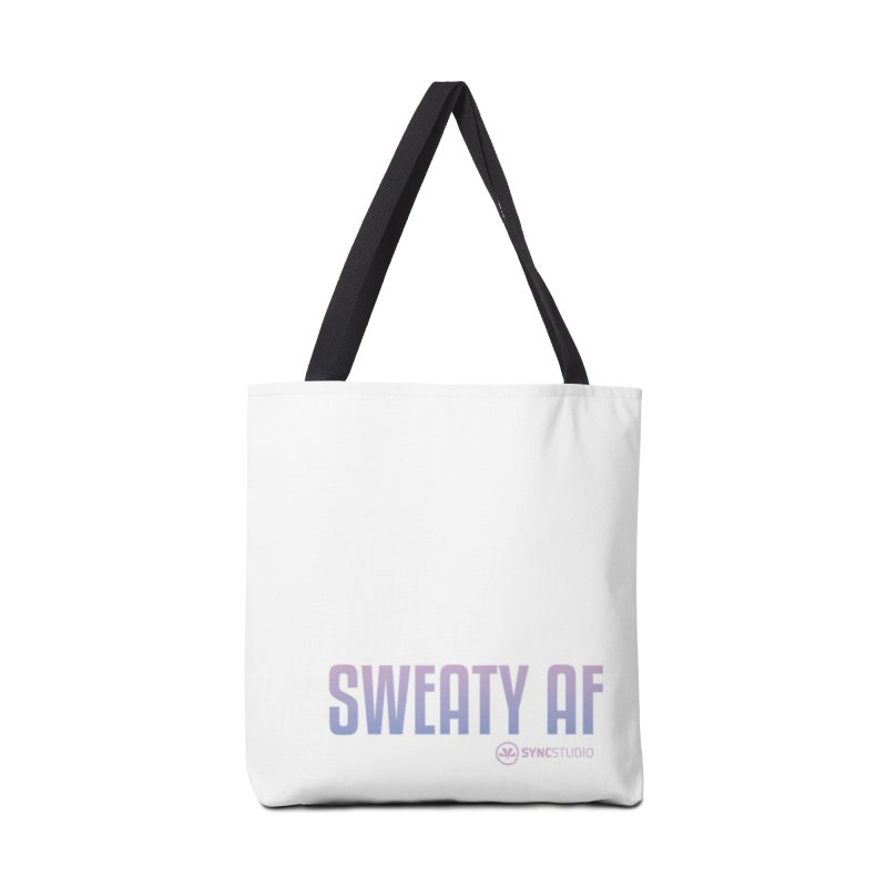 SWEATY AF Accessories Tote Bag Bag by SYNCSTUDIO Sweat Supplies