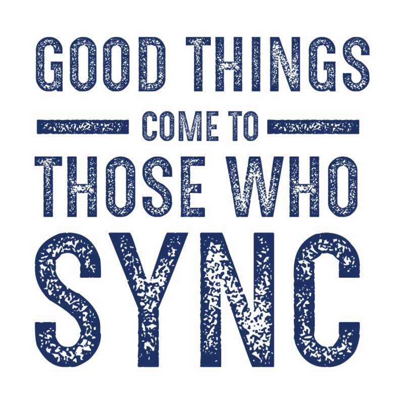 Good Things Navy by SYNCSTUDIO Sweat Supplies