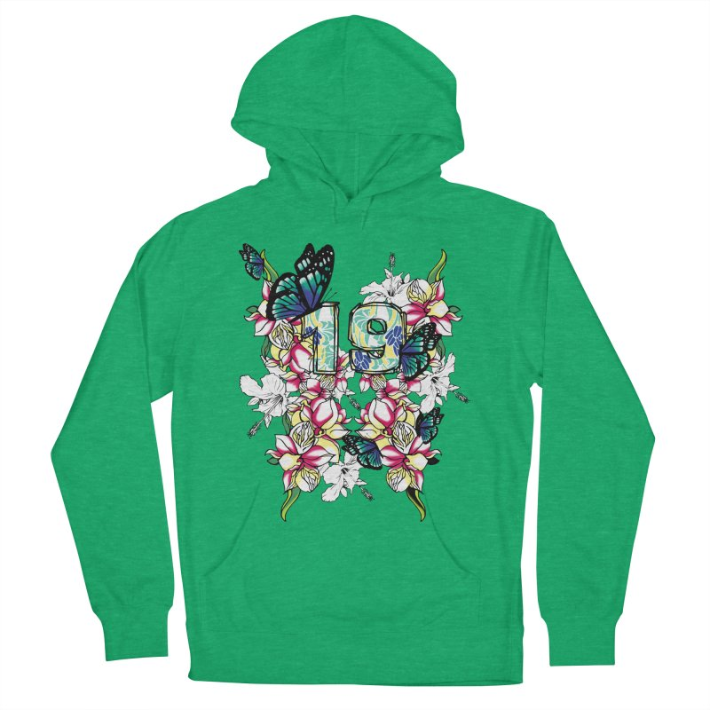 Tropical Butterflies Women's Pullover Hoody by syria82's Artist Shop