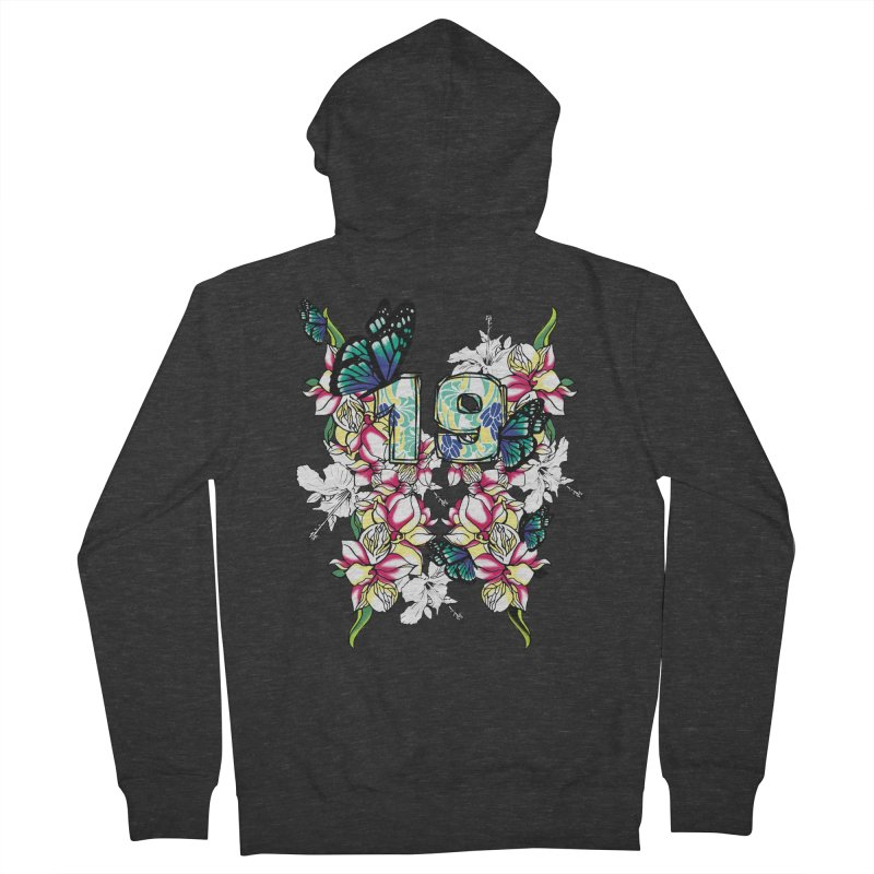 Tropical Butterflies Women's Zip-Up Hoody by syria82's Artist Shop