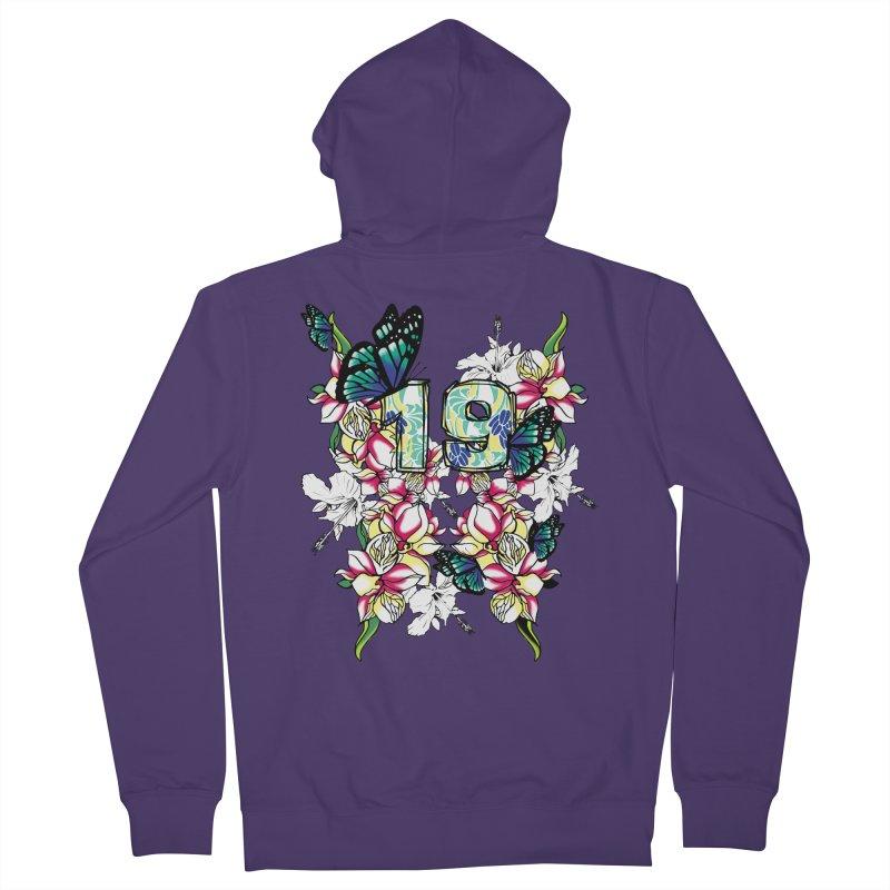 Tropical Butterflies Women's Zip-Up Hoody by syria82's Artist Shop