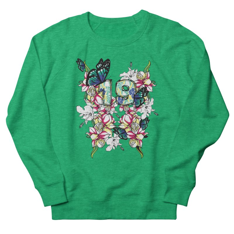 Tropical Butterflies Women's Sweatshirt by syria82's Artist Shop