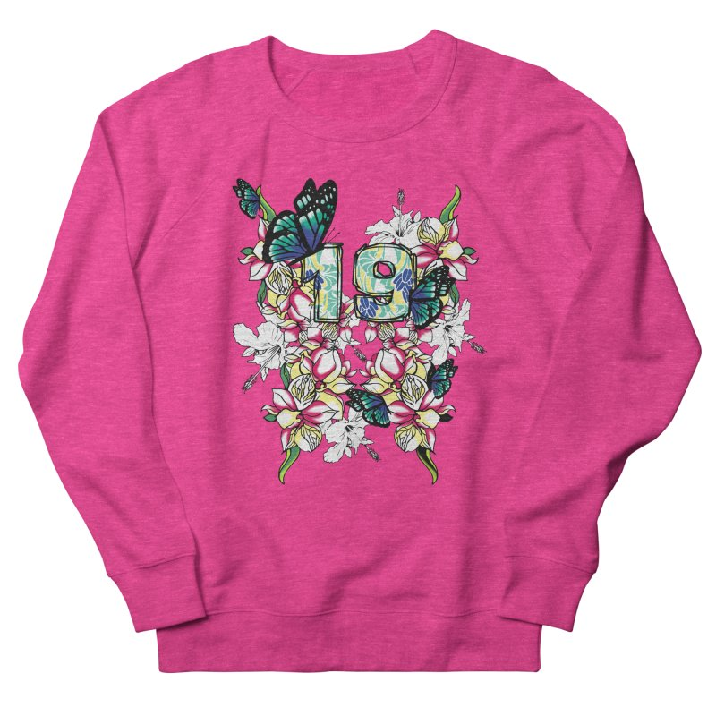 Tropical Butterflies Women's Sweatshirt by syria82's Artist Shop