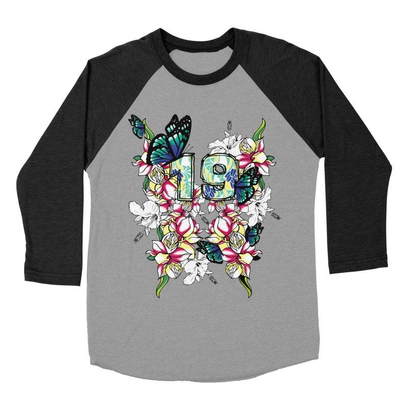 Tropical Butterflies Women's Baseball Triblend T-Shirt by syria82's Artist Shop