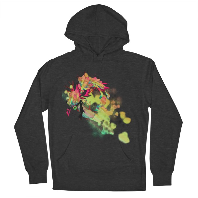 the plumed girl Women's Pullover Hoody by syria82's Artist Shop