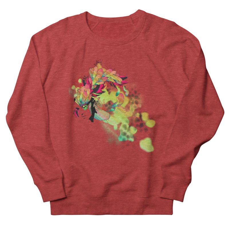 the plumed girl Women's Sweatshirt by syria82's Artist Shop