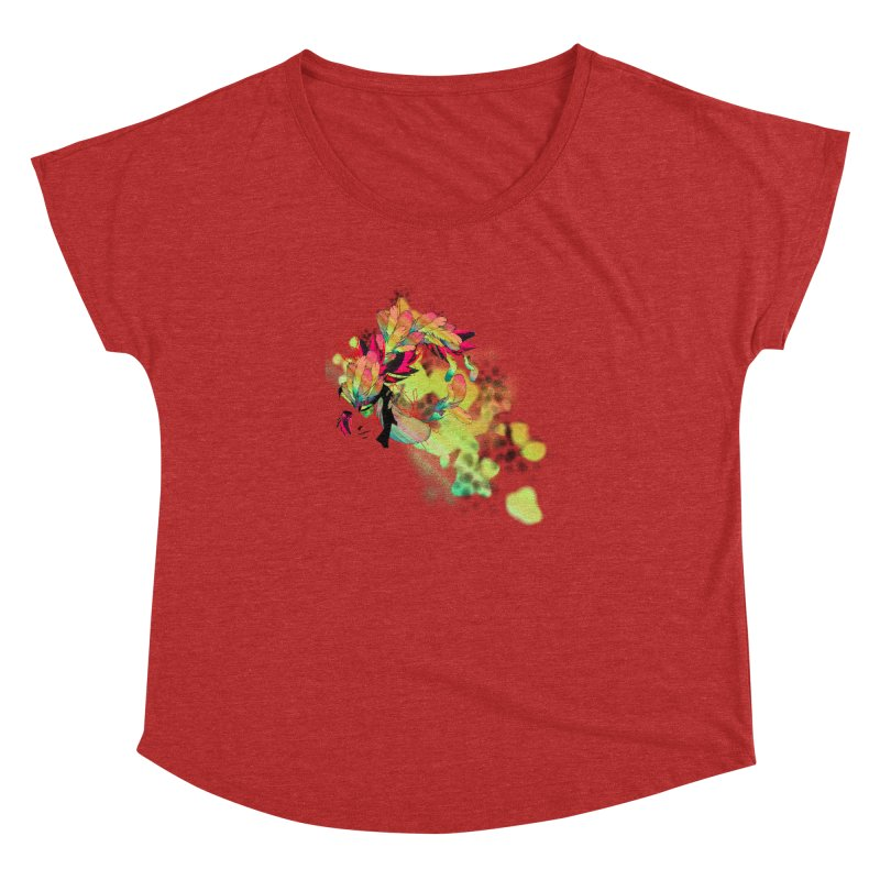 the plumed girl Women's Dolman by syria82's Artist Shop
