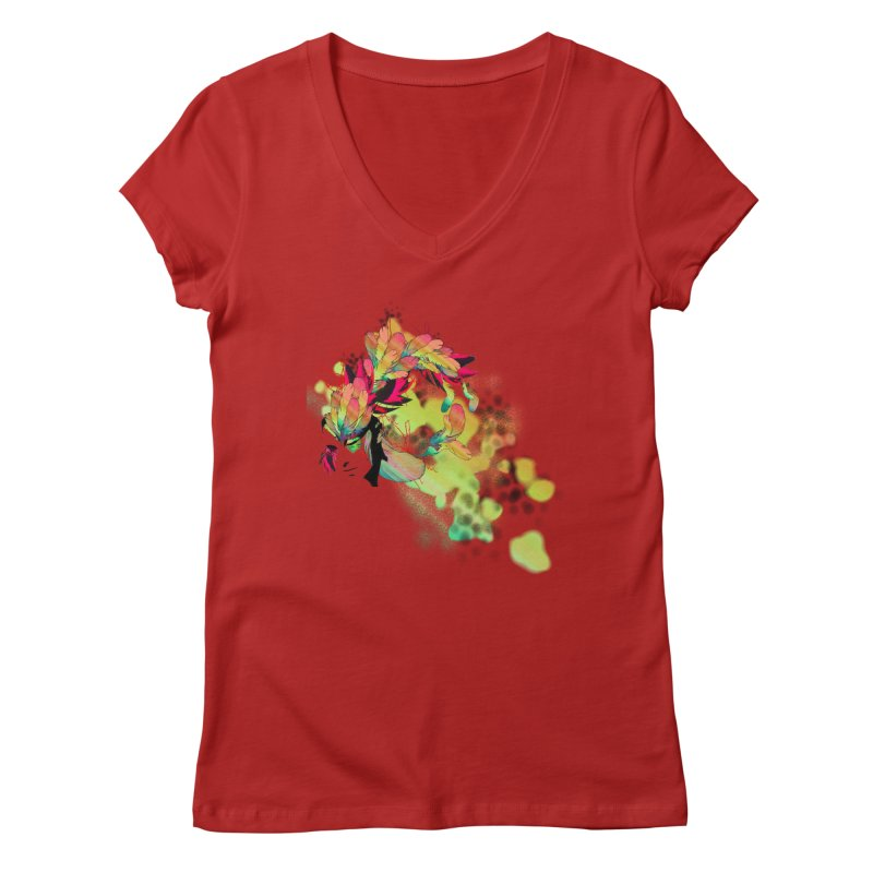 the plumed girl   by syria82's Artist Shop