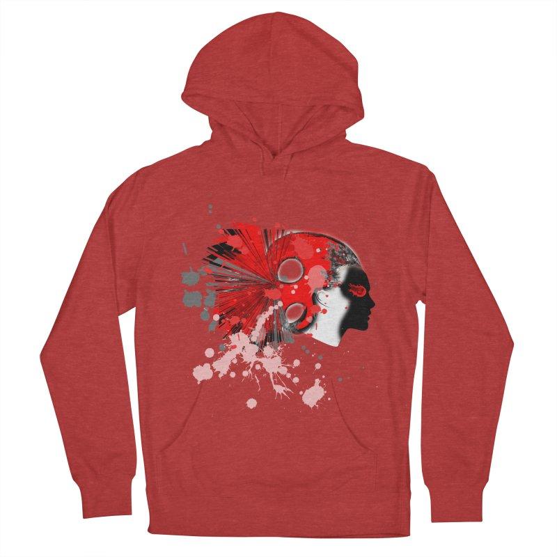 Crazy Hair Women's Pullover Hoody by syria82's Artist Shop