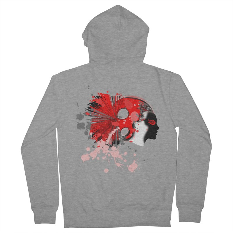 Crazy Hair Women's Zip-Up Hoody by syria82's Artist Shop