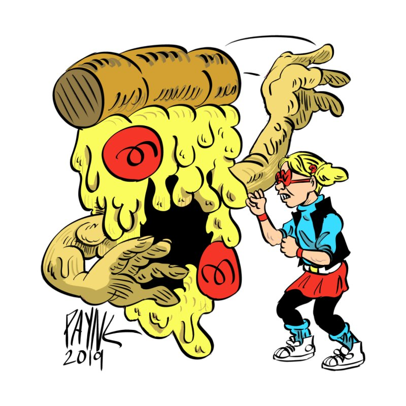 When the Pizza Gets Tough by Syrup Pirates Shirt Shop